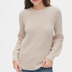 Gap Women's Shaker Stitch Crewneck Sweater - XL